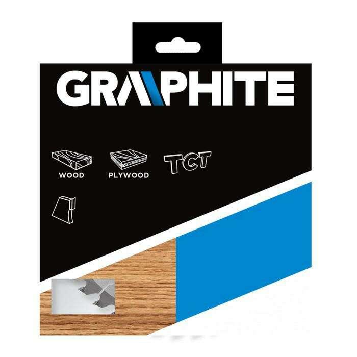 Диск пильный GRAPHITE 57H662, по дереву, 185х30 мм, 24 зуба, 3 переходника