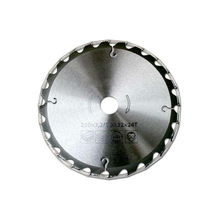 Диск пильный BELMASH 250х3,2/1,8х30 мм, 24Т