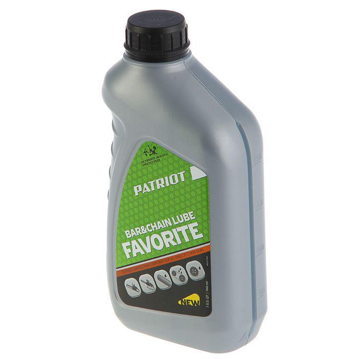 Масло PATRIOT FAVORITE BAR&CHAIN LUBE, 0.946 л, цепное