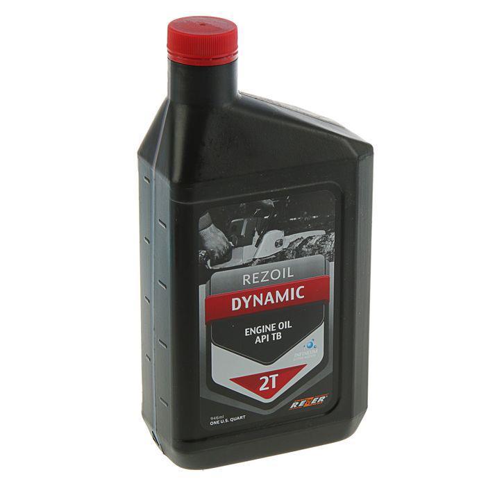 Масло Rezer Rezoil DYNAMIC 2T API TB, для 2Т двигателей, минеральное, 0.946 л