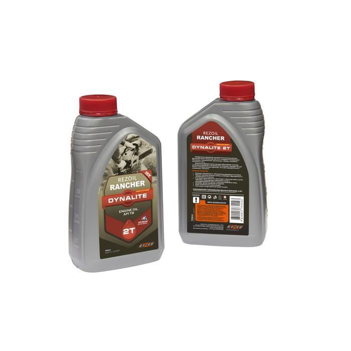 Масло Rezoil Rancher DYNALITE 2Т, для двухтактных двигателей, минеральное, API ТВ, 0.946 л