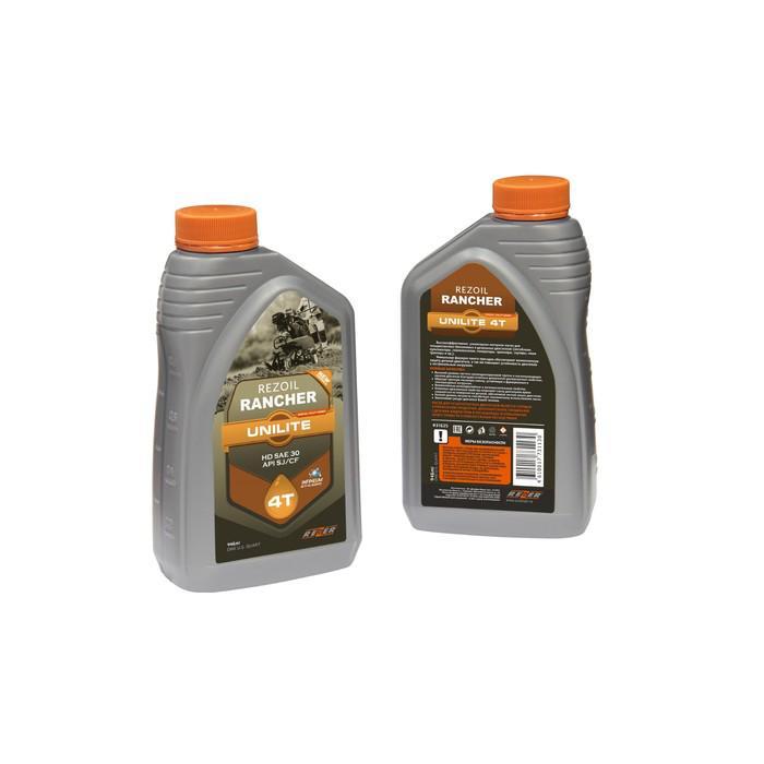 Масло Rezoil Rancher UNILITE 4Т, для 4Т двигателей, минеральное, SAE 30 API SJ/CF, 0.946л
