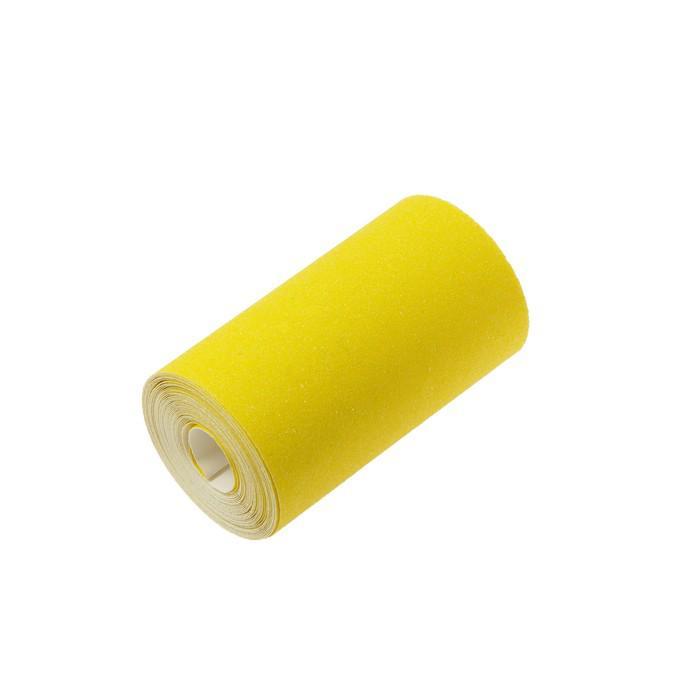 Шкурка шлифовальная в мини-рулонах LOM, на бумажной основе, 115мм х 5м, Р80