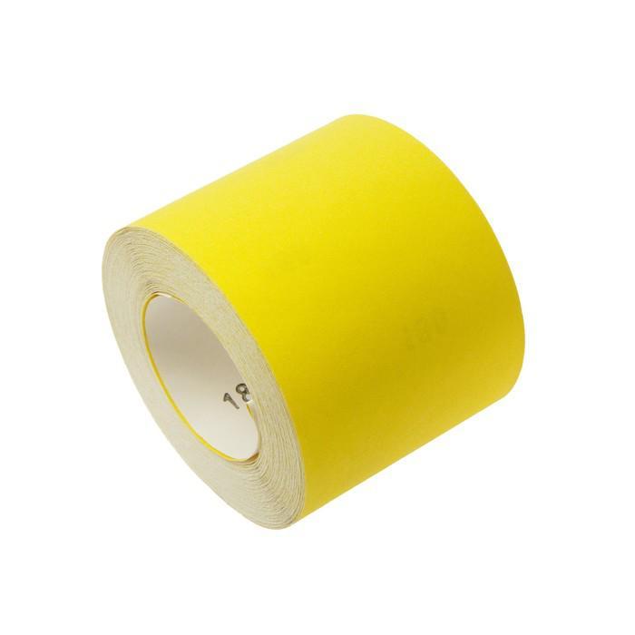 Шкурка шлифовальная в мини-рулонах LOM, на бумажной основе, 115мм х 30м, Р180
