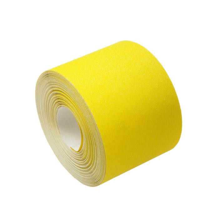 Шкурка шлифовальная в мини-рулонах LOM, на бумажной основе, 115мм х 30м, Р80