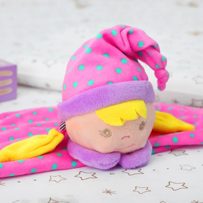 """Комфортер """"Девчушка в шапочке"""" цвет розовый"""