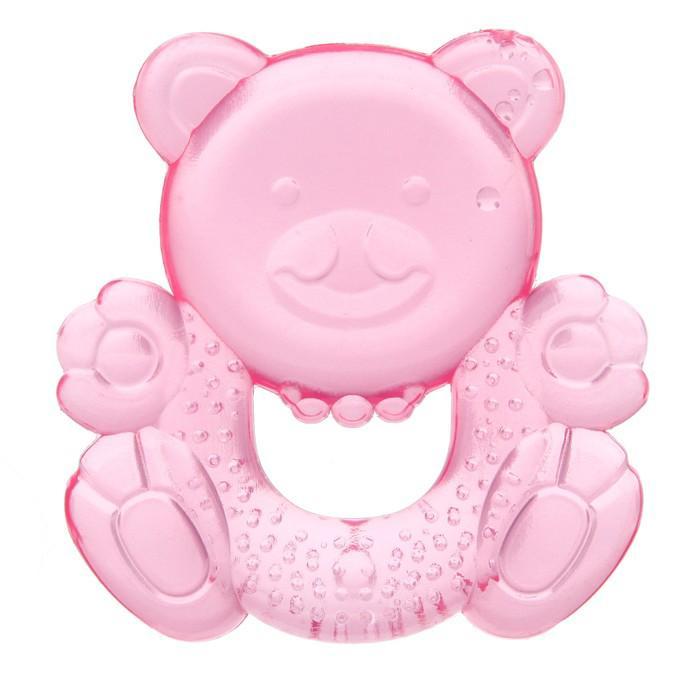 Прорезыватель с водой «Милый мишка», цвета МИКС