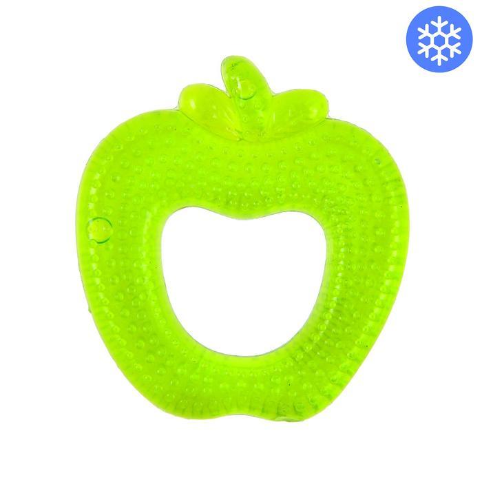 Прорезыватель охлаждающий «Яблочко» LUBBY, от 4 мес., цвет МИКС