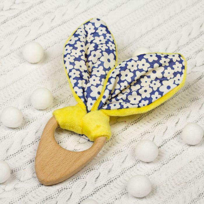 Развивающая игрушка-грызунок «Для маленьких джентльменов», форма морковка