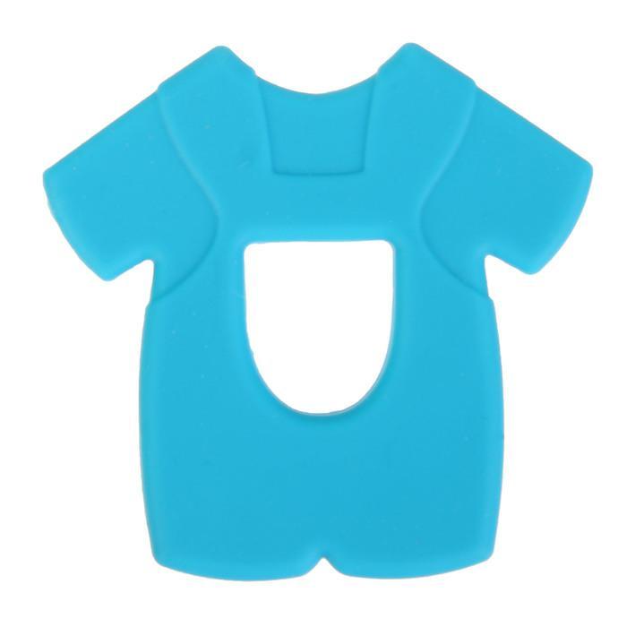Прорезыватель силиконовый «Крошка Я. Рубашка», цвет МИКС