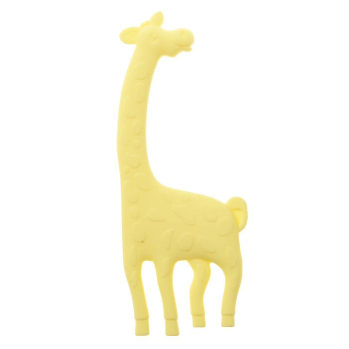 Прорезыватель силиконовый «Крошка Я. Жирафик», цвет МИКС