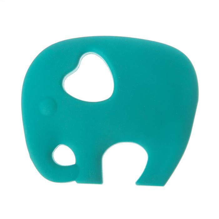 Прорезыватель силиконовый «Крошка Я. Слоник», цвет МИКС