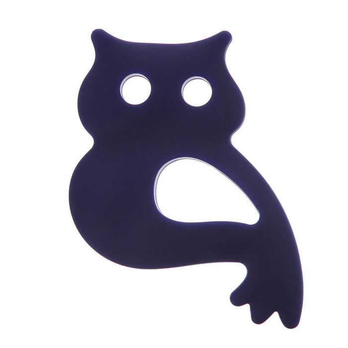 Прорезыватель силиконовый «Крошка Я. Совушка», цвет МИКС