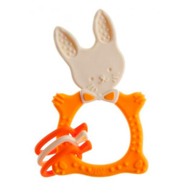 Прорезыватель Roxy RBT-001MU Bunny  горчичный