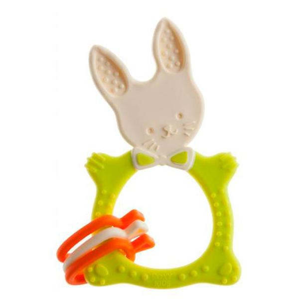 Прорезыватель Roxy RBT-001GN Bunny зеленый