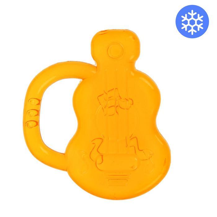 Прорезыватель охлаждающий «Крошка Я. Гитара», цвет МИКС