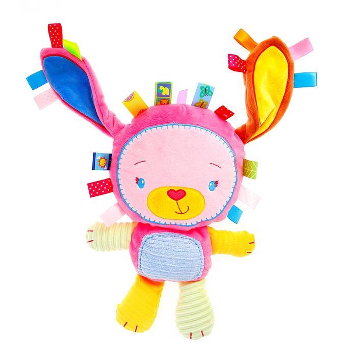 Подвеска-игрушка для кроватки/коляски с погремушкой «Зайчик»
