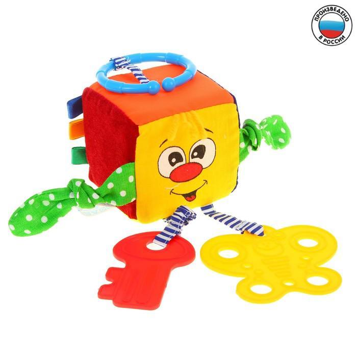 Развивающая игрушка-подвеска «Квадратуша», МИКС
