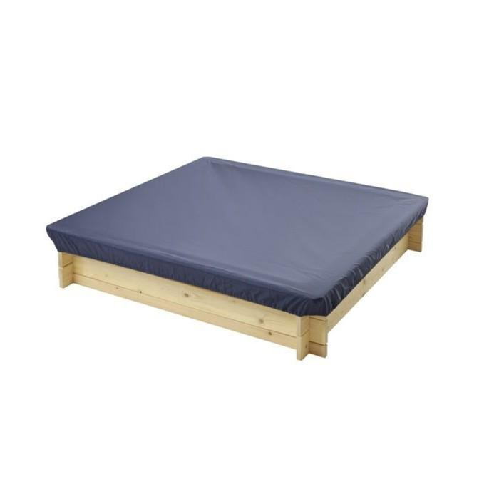 Защитный чехол для песочниц Paremo, 120 х 120 х 30 см., цвет тёмно-синий