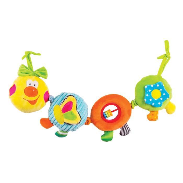 Игрушка - подвес «Весёлая гусеница «Камилла»