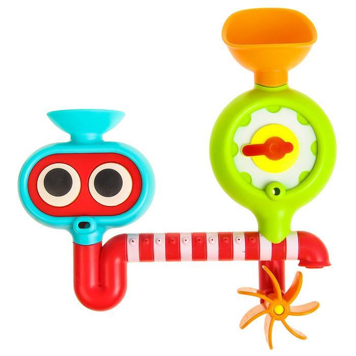 Игрушки для купания «Водная забава», на присоске