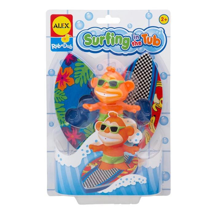 """Игрушка для ванны """"Сёрфинг"""""""