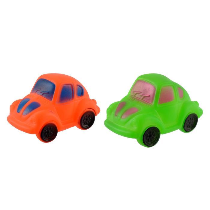 Набор игрушек для ванны «Машинки», 2 шт., цвет МИКС