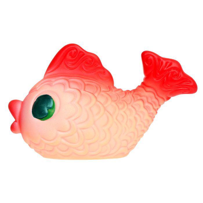 """Резиновая игрушка """"Золотая рыбка"""""""
