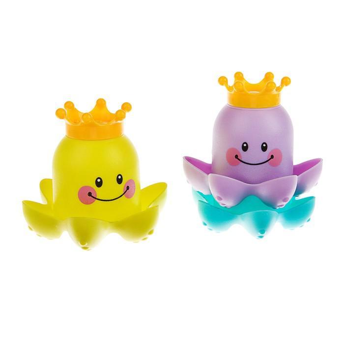 Игрушки для купания «Осьминожка-3», 3 предмета