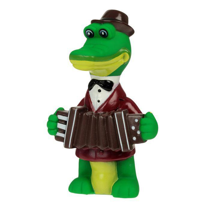 """Игрушка для ванной """"Крокодил Гена"""" в сетке"""