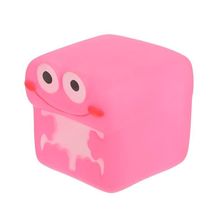Набор игрушек для ванны «Кубики-зверята», 5 шт.