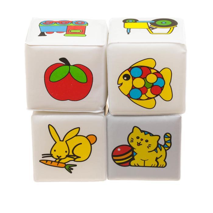 Развивающие игрушки для ванной «Кубики. Почемучка», 4 шт.