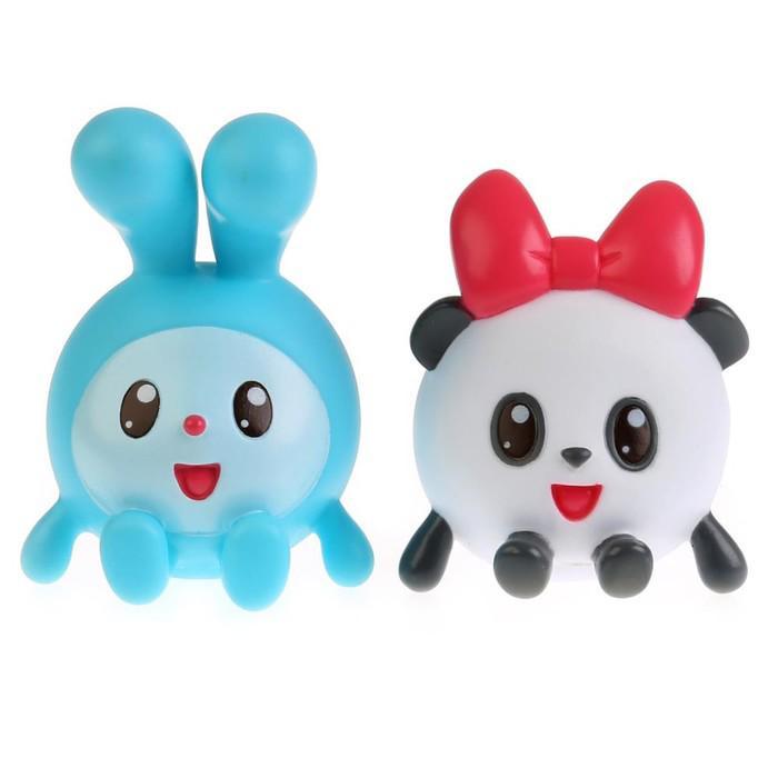 """Набор игрушек для купания """"Малышарики: Крошик и Панди"""""""