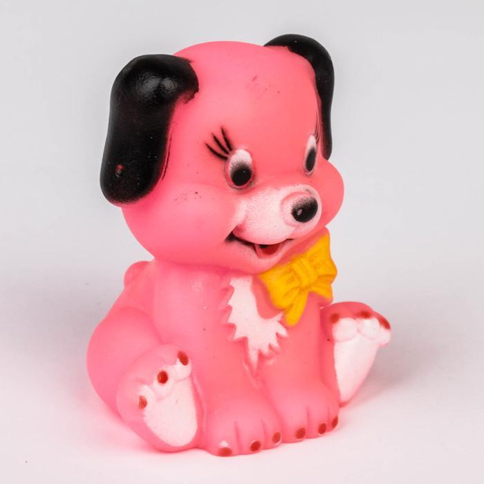 Игрушка для ванны «Собачка», цвета МИКС