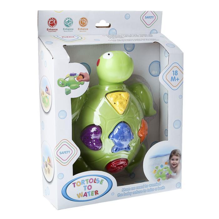 Игрушки для купания «Черепашка - сортер»