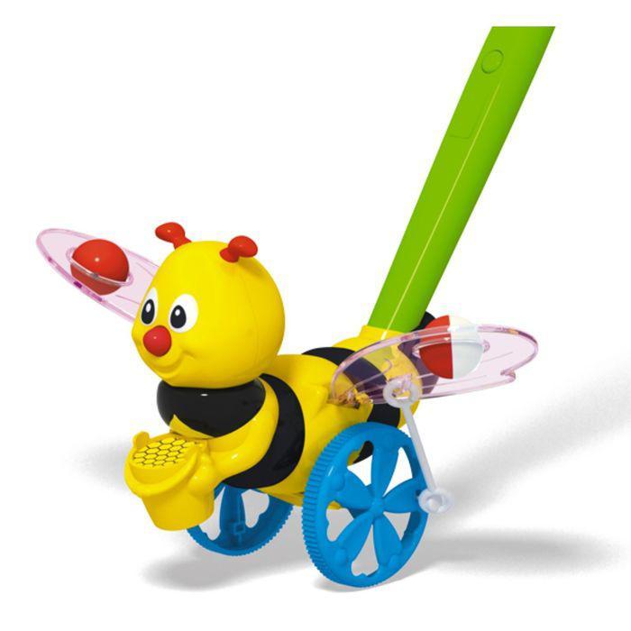 "Каталка ""Пчёлка"", длина ручки 47 см."