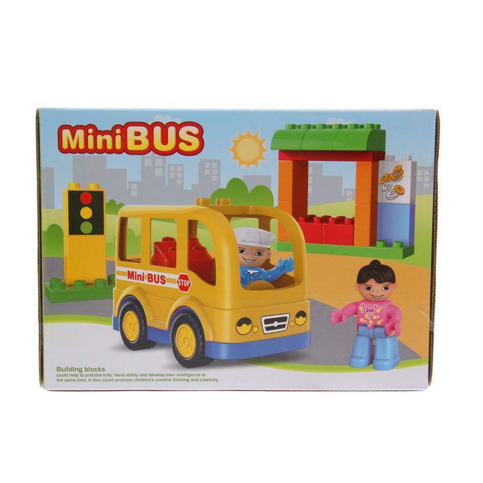 Конструктор «Мини-автобус», 22 детали