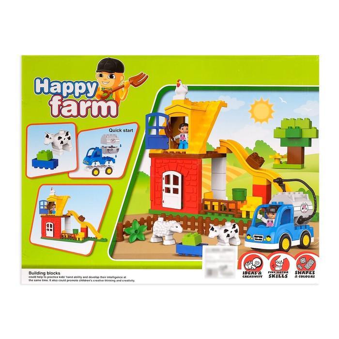 Конструктор «Забавная ферма», 50 деталей