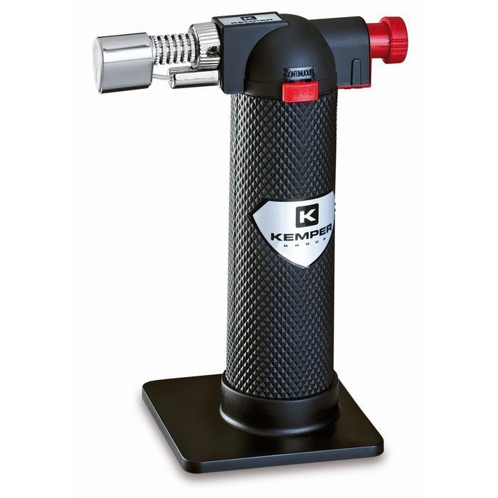 Лампа паяльная KEMPER Micro 12500, газовая, 1200°, п/поджиг, регулировка подачи воздуха