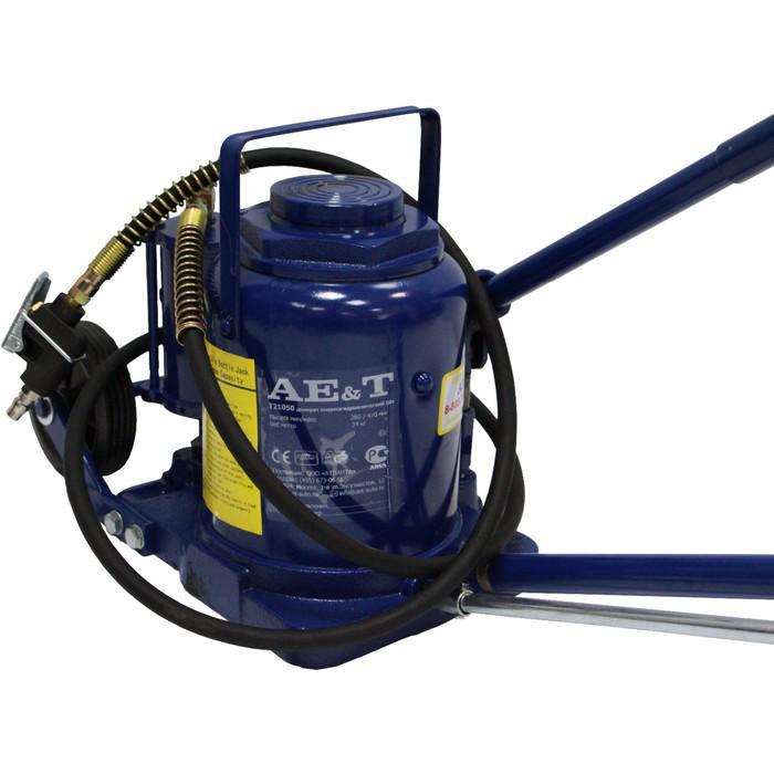 Домкрат пневмогидравлический AE&T T21050, 50 т, 265-425 мм