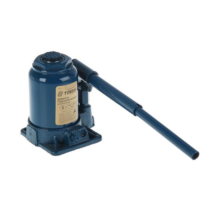 Домкрат гидравлический бутылочный TUNDRA comfort 6 т, телескопический 154-354 мм