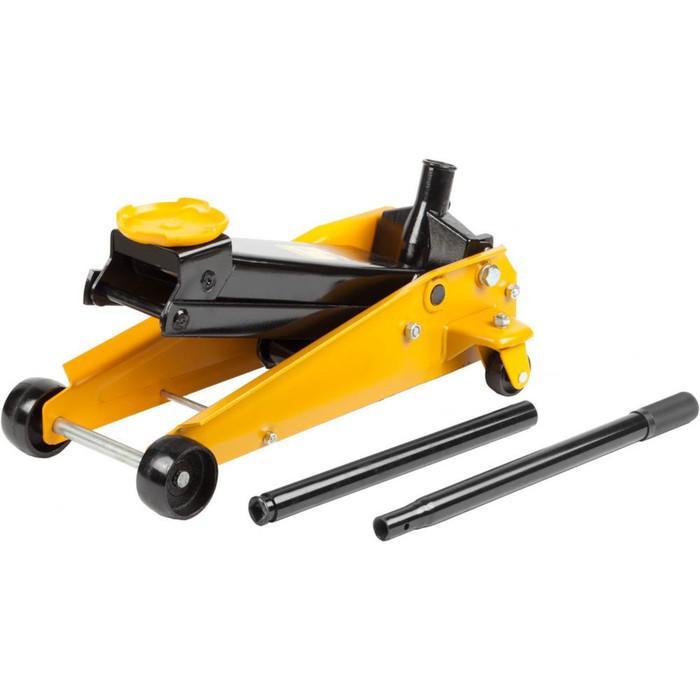 Домкрат STAYER 43150-3, гидравлический, подкатной, 3т, 130-500 мм