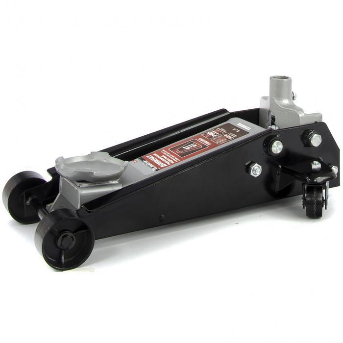 Домкрат MATRIX, гидравлический подкатной, быстрый подъем, 3т Quick Lift, 130-465 мм