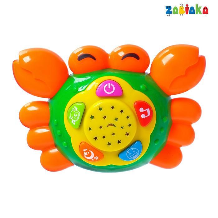 Музыкальная игрушка «Краб», световые и звуковые эффекты