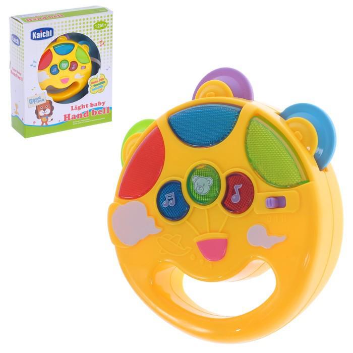 Музыкальная игрушка «Солнышко», световой и звуковой эффект