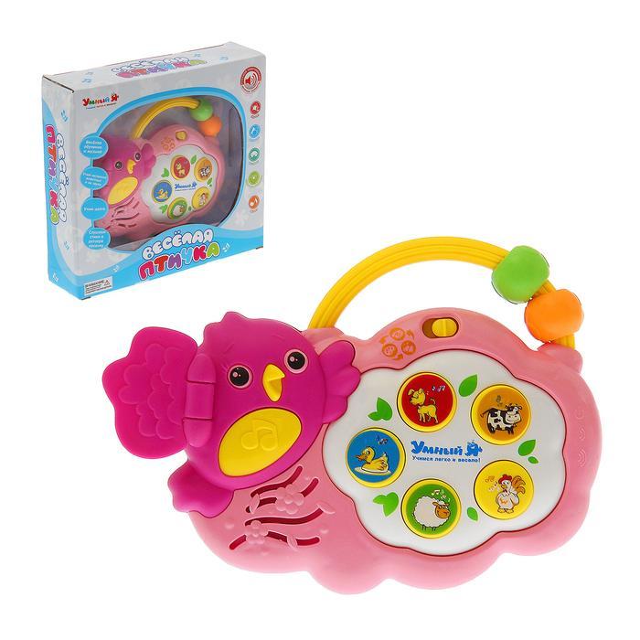 Развивающая игрушка «Весёлая птичка», звуковые эффекты