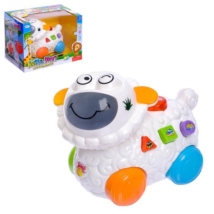 """Развивающая игрушка """"Овечка"""", двигается, световые и звуковые эффекты"""
