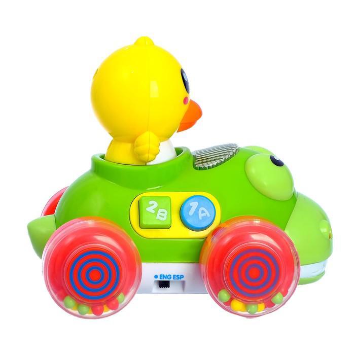 Музыкальная игрушка «Весёлая машинка», звуковой эффект