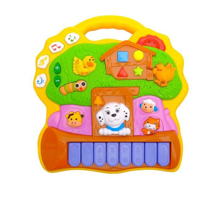 Музыкальная игрушка-пианино «Волшебное дерево» световые эффекты