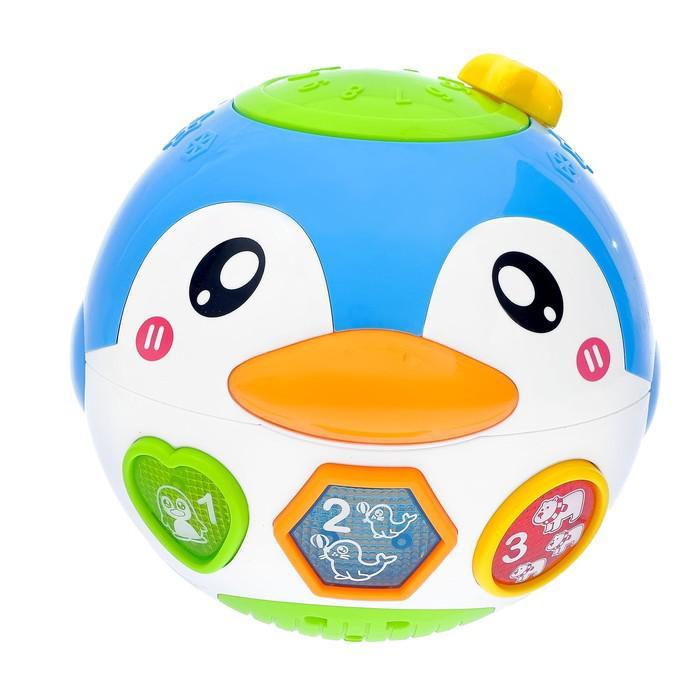 Музыкальная игрушка «Пингви» с вибрацией, световые и звуковые эффекты